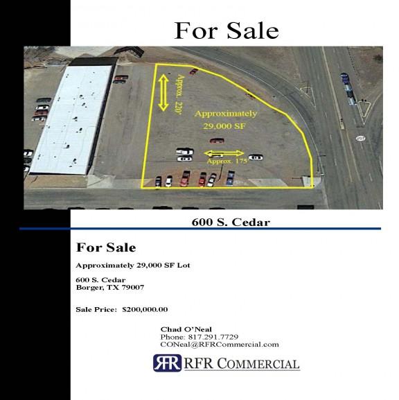 600 S. Cedar Retail Pad Site image